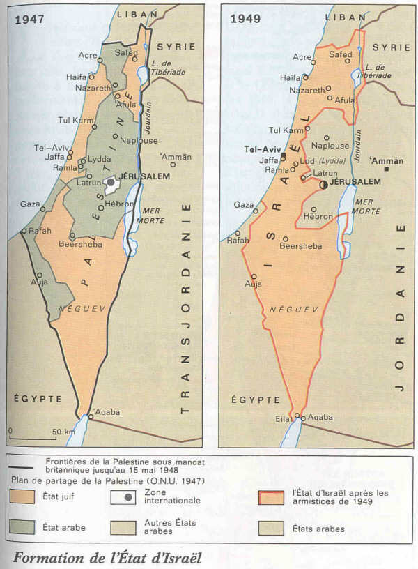 origine du conflit israelo palestinien(historique)